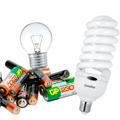 Батарейки и лампы